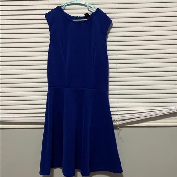Blue forever 21 sleeveless dress small